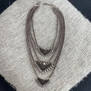 DLNLX by Dylanlex silver necklace